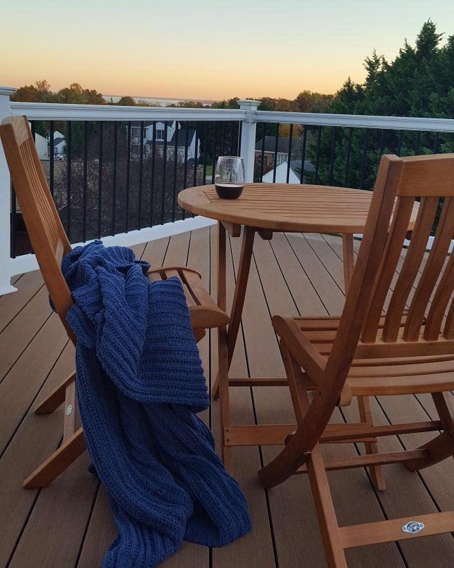 master deck sunset