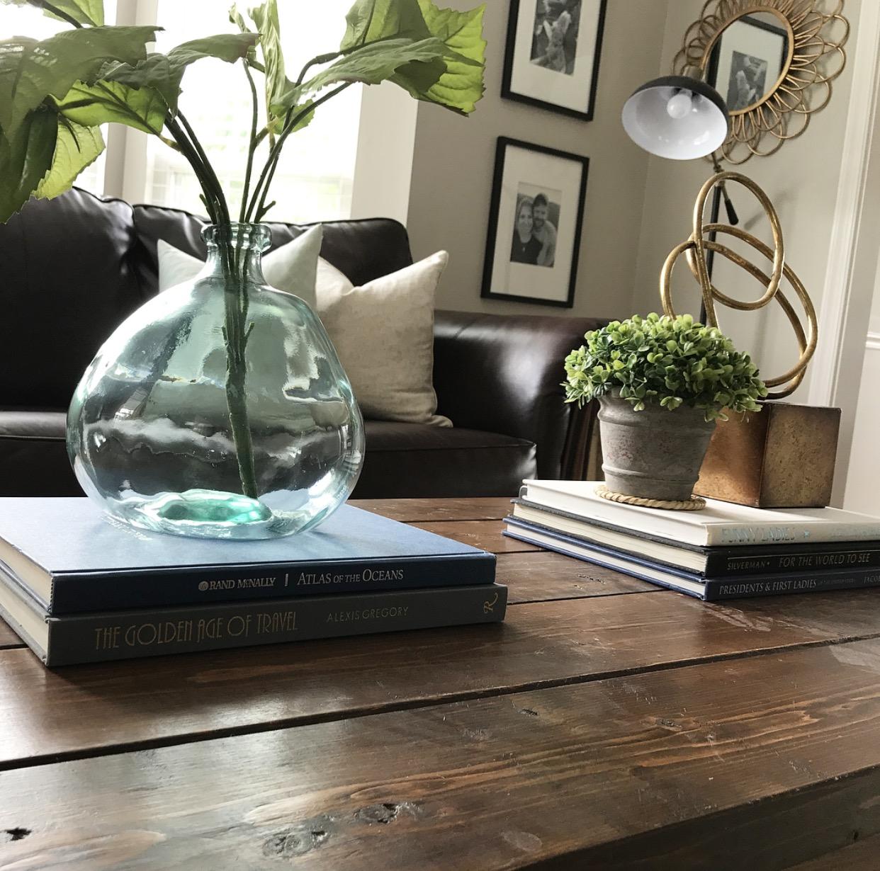 Coffee Table Decor Books