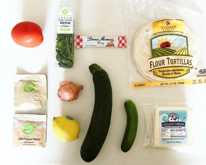 HelloFresh Mediterranean Cheese Tacos