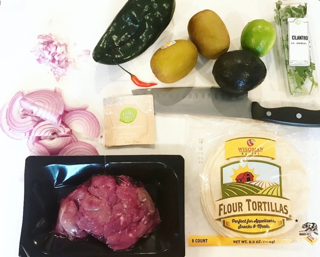 HelloFresh Southwestern Steak Tacos