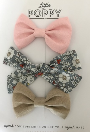 little poppy bows