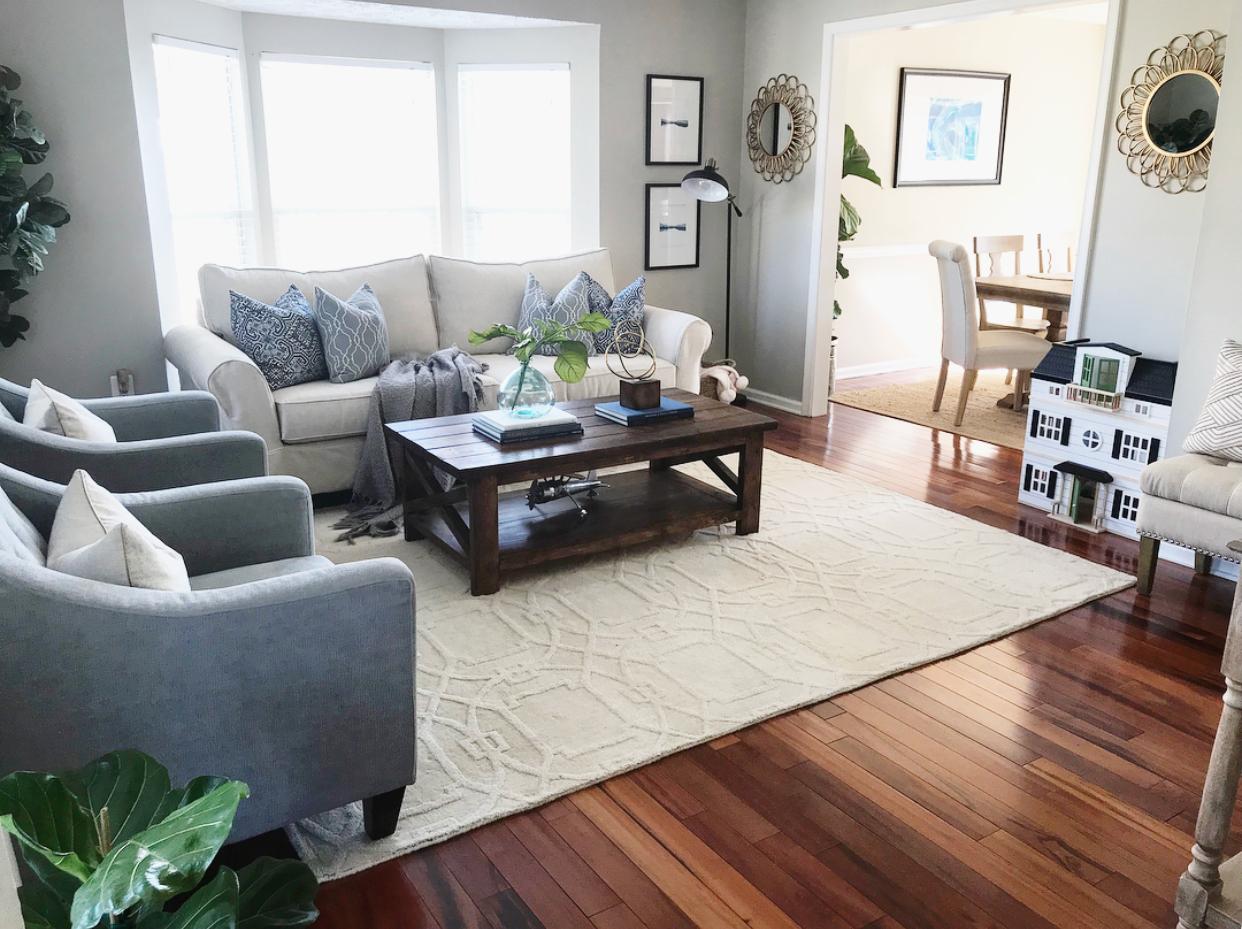 living room new sofa